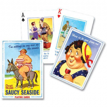 Saucy Seaside Playing Cards